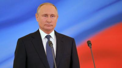 Vladimir Putin Russia S President In Power For 20 Years Cbbc Newsround