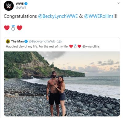 WWE: Becky Lynch and Seth Rollins are engaged! CBBC Newsround
