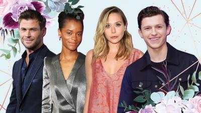 Avengers Star Scarlett Johansson Announces Engagement Cbbc Newsround