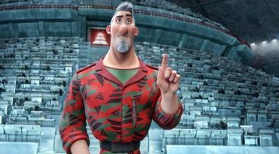 Review Aardman S New Movie Arthur Christmas Cbbc Newsround