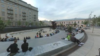 Гугл панорама улиц москвы