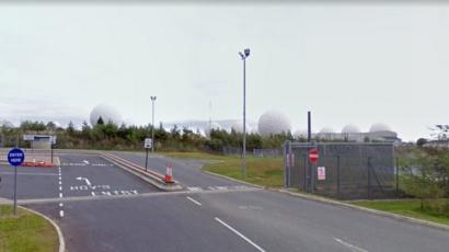 Raf Menwith Hill Spy Base Entrance In Security Upgrade Plan