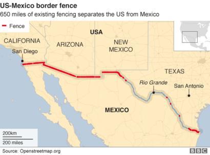 texas border with mexico map Trump Immigration Texas Sends National Guard To Mexico Border