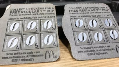 Hundreds Of Fake Mcdonalds Coffee Stickers Found In Mans