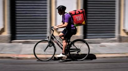 Greggs Picks Just Eat For Home Deliveries Bbc News