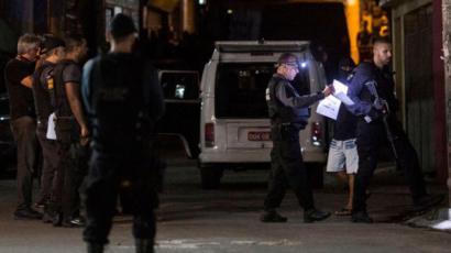 Reconstrucción de una muerte por bala perdida en Brasil
