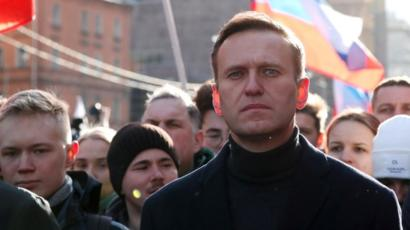 Alexei Navalny in Moscow, Feb 2020