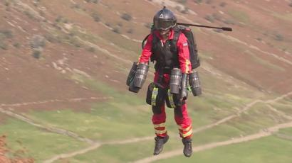 Jet suit paramedic tested in the Lake District 'could save lives' (bbc.com)