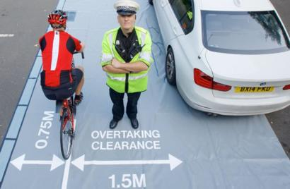 Lorry driver fined for passing too close to cyclist BBC News