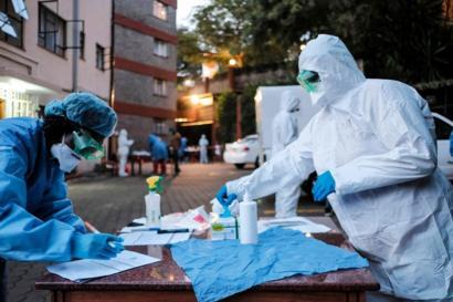 How the spread of coronavirus is testing Africa - BBC News