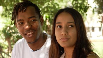 Kelechi Okafor: Im not hiding my white boyfriend - BBC News