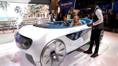 Ces 2020 Concept Cars Of The Future Shown Off In Vegas Bbc News