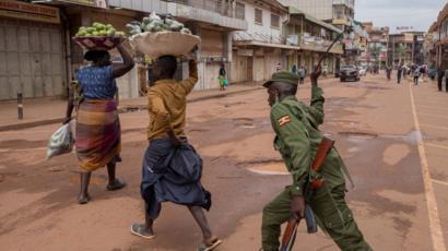 Coronavirus in Africa: Whipping, shooting and snooping - BBC News