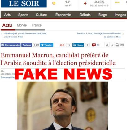 Fake News Five French Election Stories Debunked Bbc News