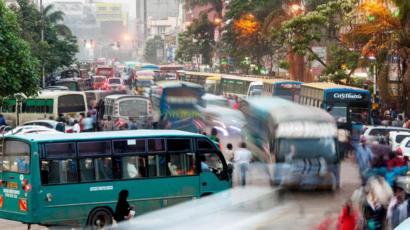 الزحام المروري في نيروبي