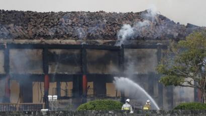 しゅり じょう 沖縄 世界 遺産 火事 原因