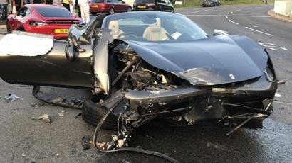 Sheffield supercar crash Two drivers sentenced , BBC News