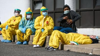 Coronavírus: por que a covid-19 afeta tanto os profissionais de saúde? -  BBC News Brasil