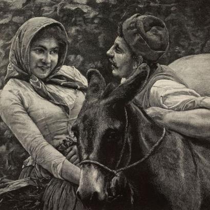 Pintura de Arturo Moradei
