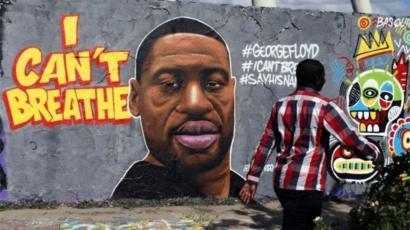 Grafiti de George Floyd