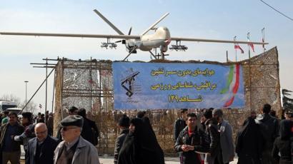 طائرة مسيرة إيرانية