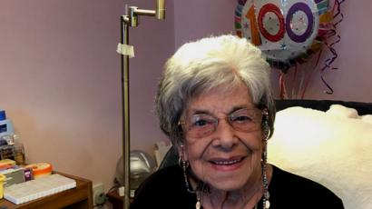 A 100 Year Old Woman Shares The Secret Of Her Young Looks Bbc News