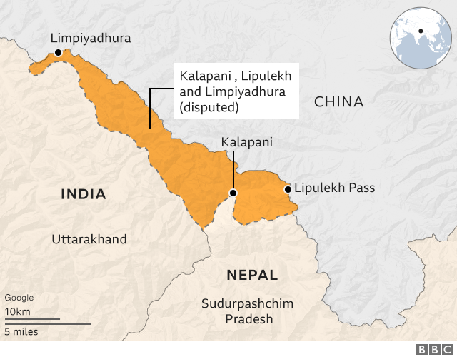 map of china and nepal India And China How Nepal S New Map Is Stirring Old Rivalries map of china and nepal