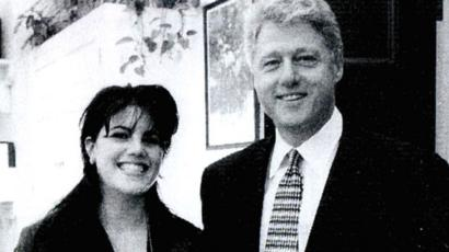 Bill clinton still cheating