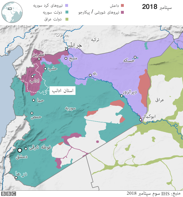 عکس نقشه کشور سوریه