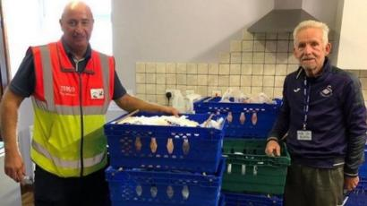 Ammanford Food Bank Blown Away By Anonymous Donation Bbc