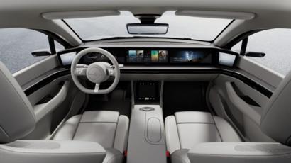 کمپانی سونی از اولین خودروی برقی خود رونمایی کرد