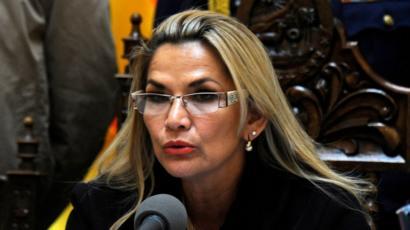 Crisis En Bolivia La Presidenta Interina Jeanine áñez