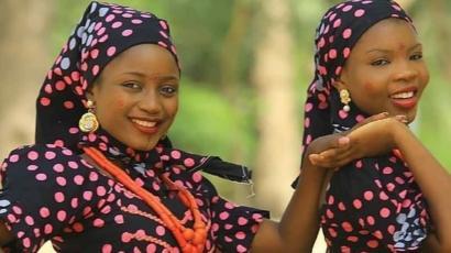 Maryam Yahaya da Amal Umar a fim din Larai ko Jummai