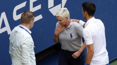 Novak Djokovic es descalificado del US Open por darle un pelotazo a una  jueza de línea - BBC News Mundo