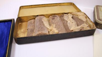 Ww1 Soldiers 103 Year Old Chocolate Found Bbc News
