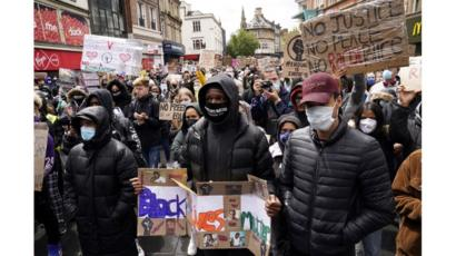 Campaigners in Leicester marched through the city centre
