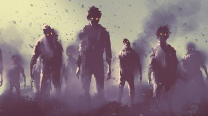 Who is prepared for a 'zombie apocalypse'? - BBC News