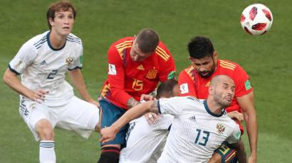 Великие лица испанского футбола