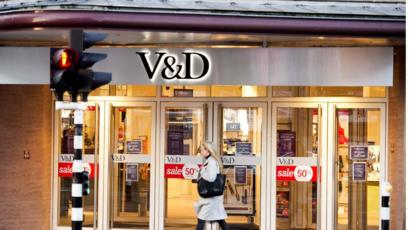 Slaapbank Manhattan Vd.Dutch V D Department Store Business Goes Bust Bbc News