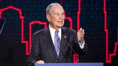 Bloomberg To Join Democratic Debate Amid Poll Surge Bbc News