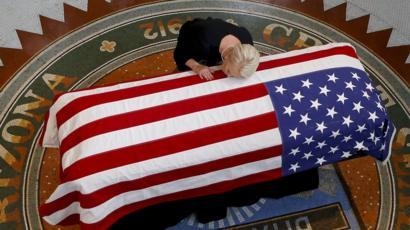 Why McCain picked these 15 pallbearers - BBC News