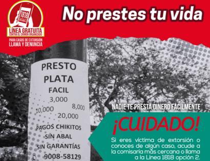 Afiche #NoPrestesTuPlata