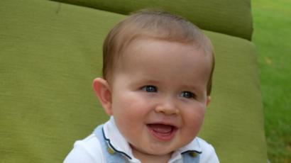tamaño de la cabeza de un bebe de 4 meses