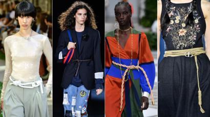Fashion Lookahead Seven Major Looks For 2020 Bbc News