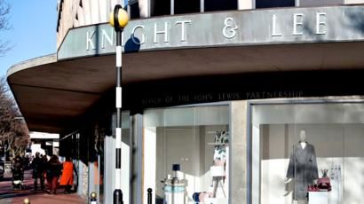 db484c9a John Lewis Southsea store Knight & Lee office space plan - BBC News