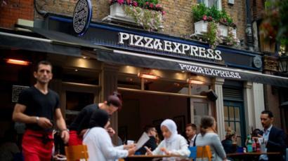 Pizza Express Were Still Making Dough Bbc News