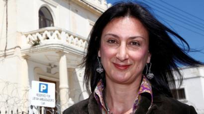 Image result for Daphne Caruana Galizia