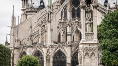 Notre Dame A History Of Paris S Beloved Cathedral Bbc News