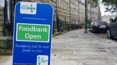 Food Bank Parcel Numbers In Scotland Hit Record High Bbc News