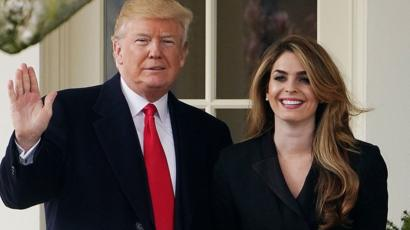 Trump Covid test: Who is Hope Hicks? - BBC News